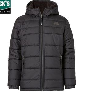 North Face puffer (reversible)